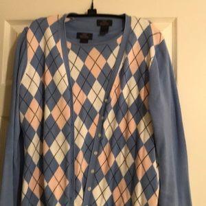 Brooks Brothers 2 piece cotton sweater set